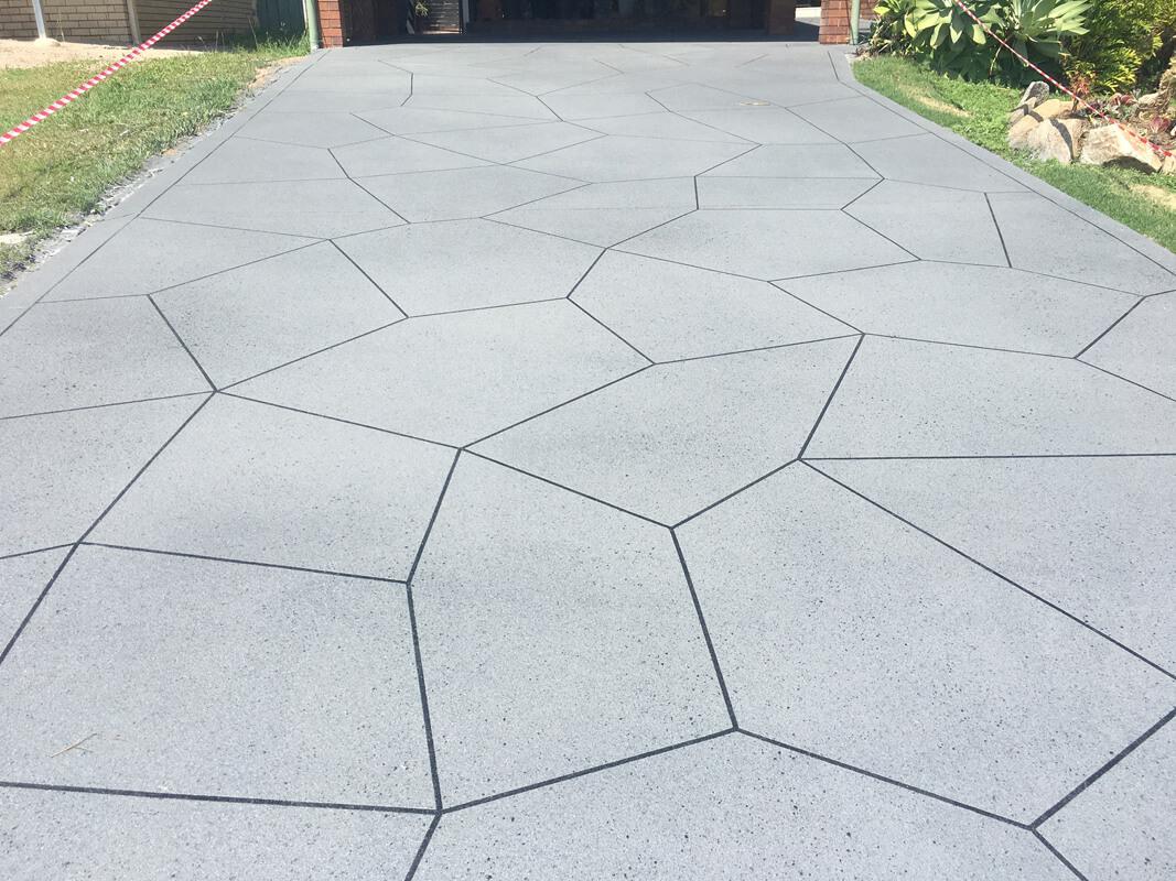 Decorative Concrete Driveways Resurfacing Brisbane Gold Coast
