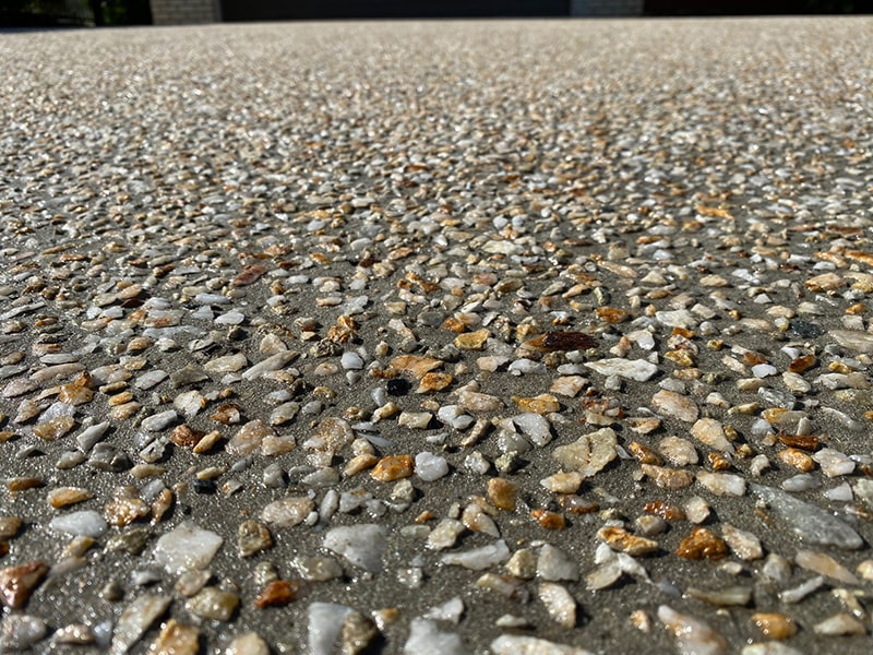 exposed seeded concrete - What Is Exposed Aggregate?
