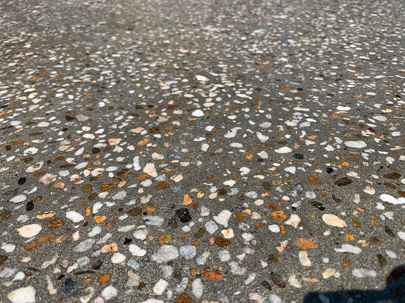 polished concrete - What Is Exposed Aggregate?