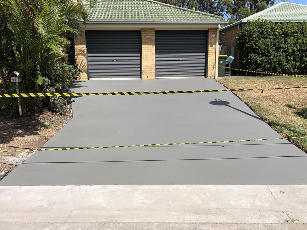 gallery plain concrete 14 - 6 Maintenance Tips for Your Stamped Concrete Driveway