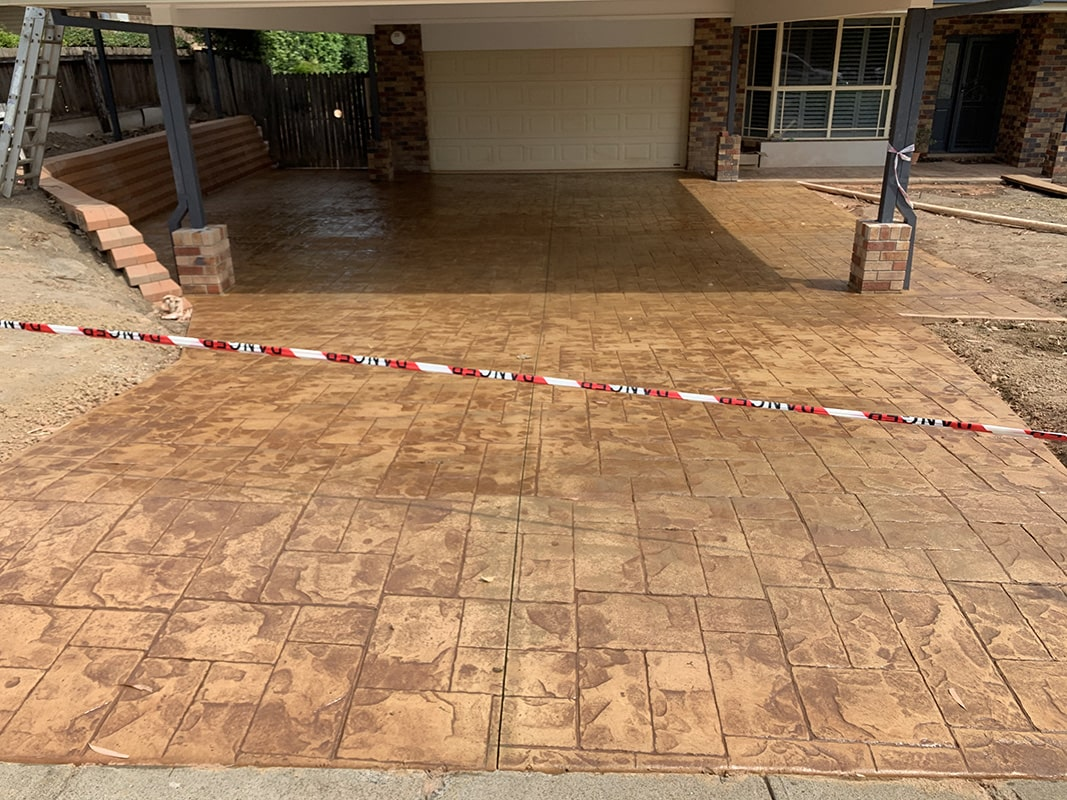 gallery stamped concrete 08 - Exposed Concrete vs. Stamped Concrete: What Is the Difference?